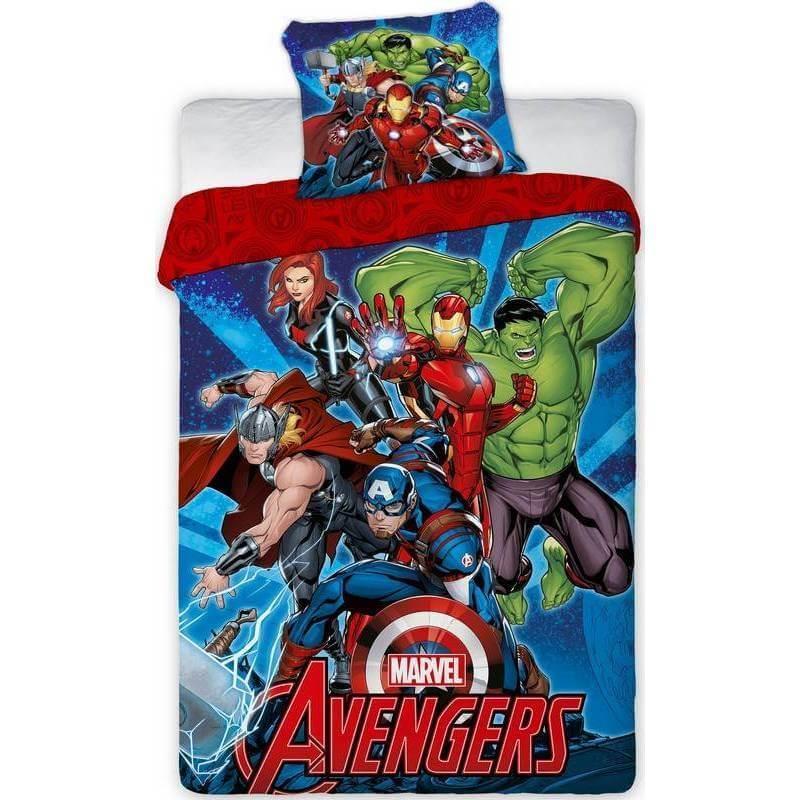 Parure de lit marvel avengers les heros