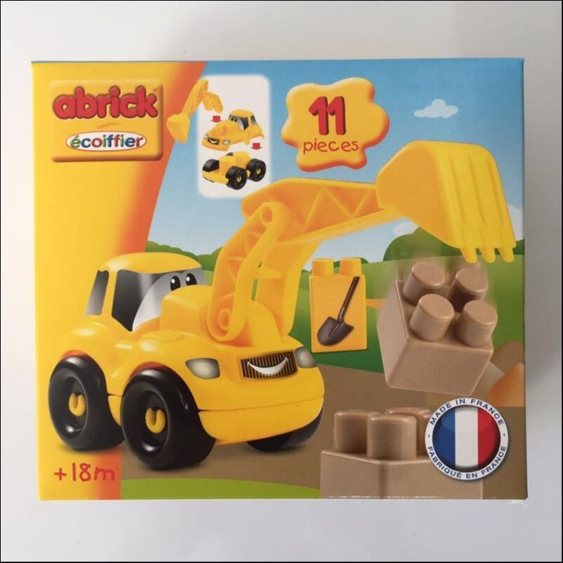 Pelle mecanique jouet abrick ecoiffier france