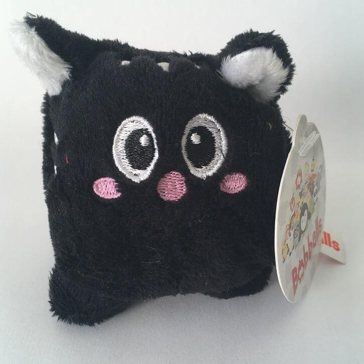 Peluche chat toute douce bobballs keel toys