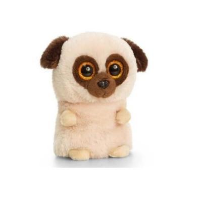 Peluche chien aux gros yeux Mini Motsu Keel Toys