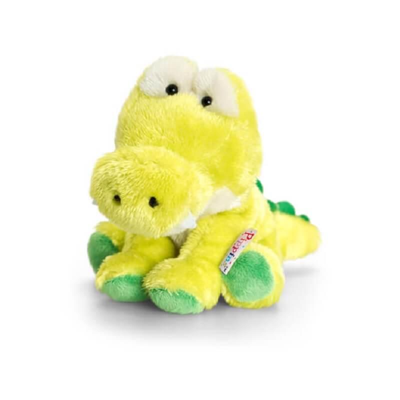 Peluche crocodile pippins keel toys toute douce