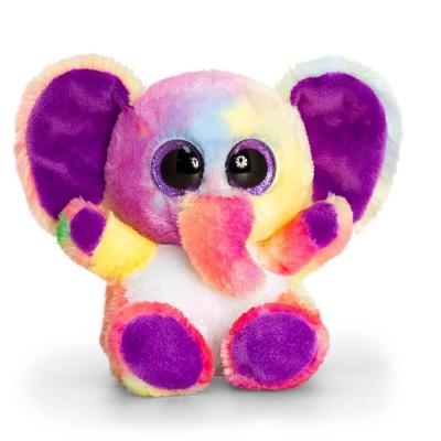 Peluche elephant toute douce aux gros yeux keel toys