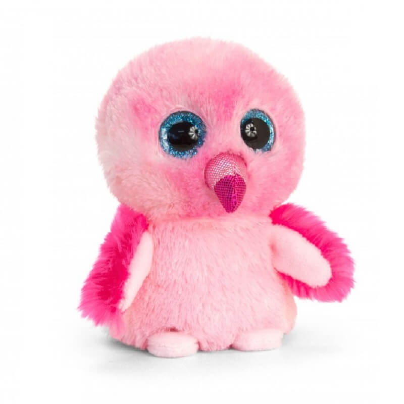 Peluche flamand rose keel toys mini motsu