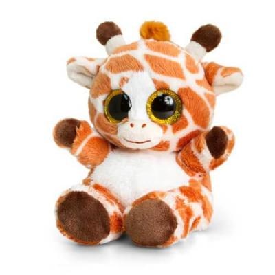 Peluche girafe aux gros yeux animotsu keel toys