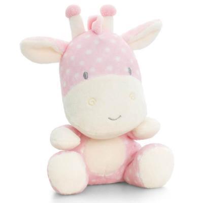 Peluche girafe rose Baby Keel Toys