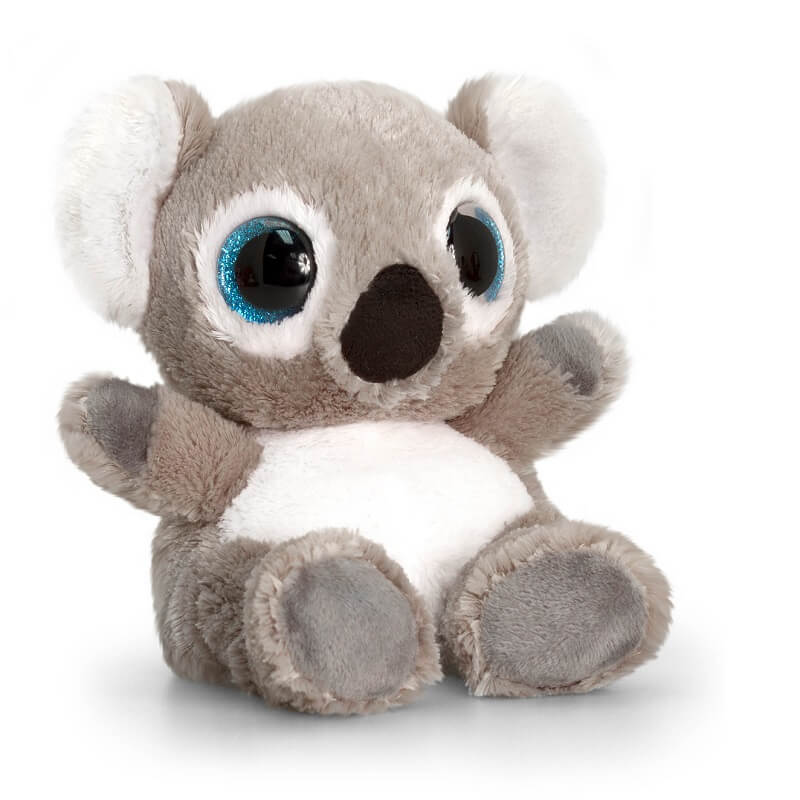 Peluche koala gros yeux animotsu kell toys