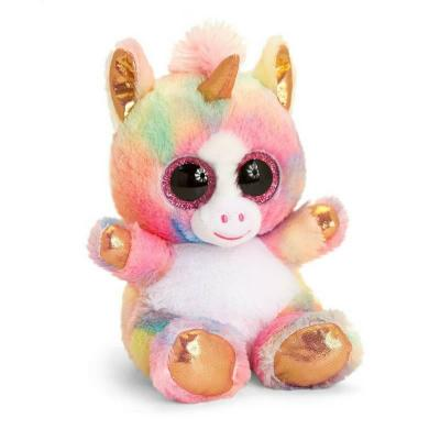 Peluche licorne Animotsu Rainbow Keel Toys