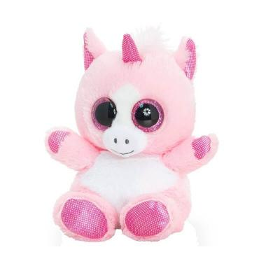 Peluche licorne aux gros yeux Keel Toys