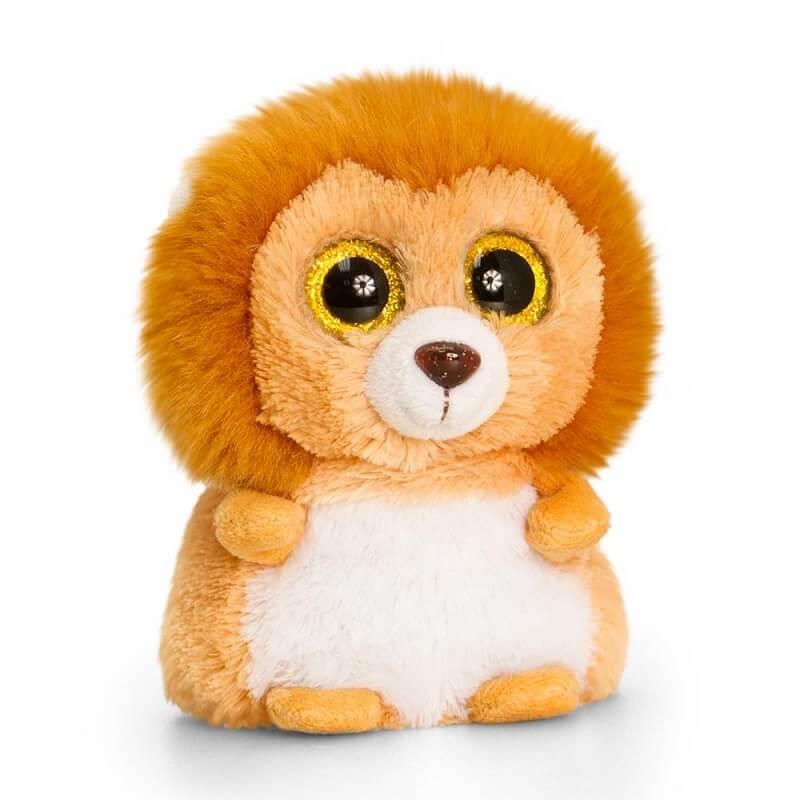 Peluche lion aux gros yeux minimotsu keel toys