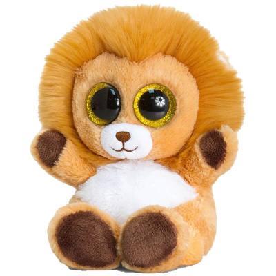 Peluche lion aux gros yeux MAXI Animotsu Wild Keel Toys