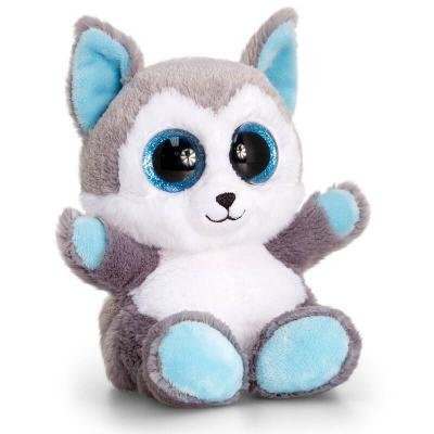 Peluche loup aux gros yeux Keel Toys
