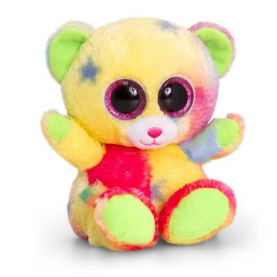 Peluche ours aux gros yeux Keel Toys