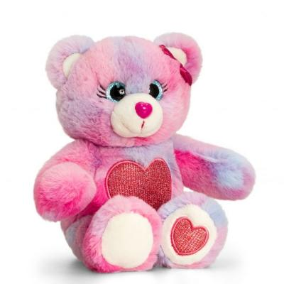 Peluche ours multicolore keel toys