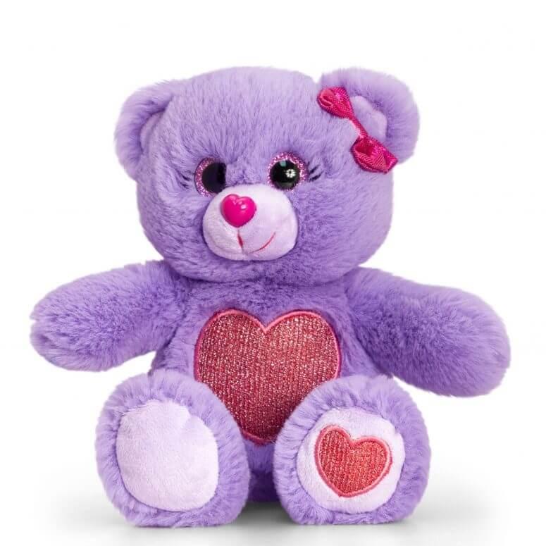 Peluche ours violet keel toys 2