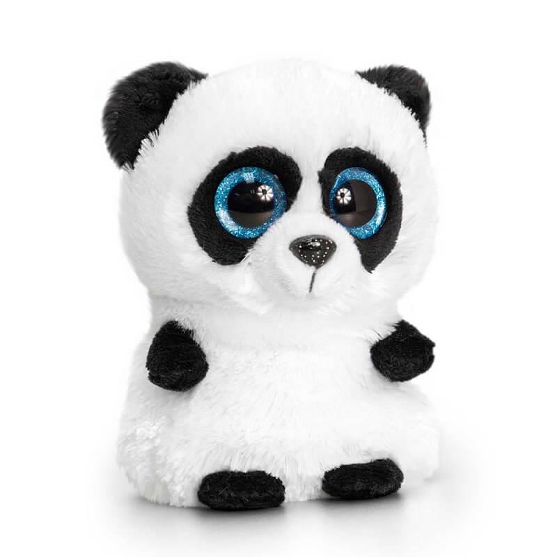 Peluche panda aux gros yeux minimotsu keel toys