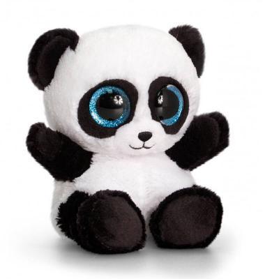 Peluche panda aux gros yeux MAXI Animotsu Wild Keel Toys