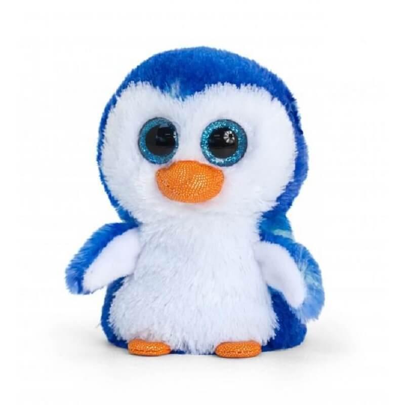 Peluche pingouin aux gros yeux minimotsu keel toys