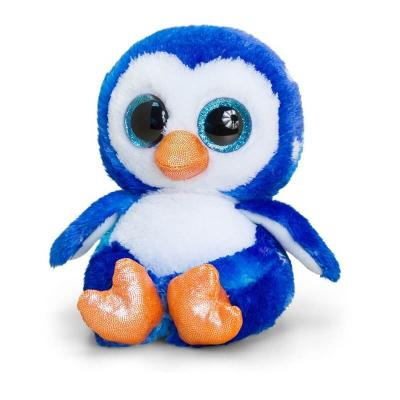 Peluche pingouin aux gros yeux Keel Toys