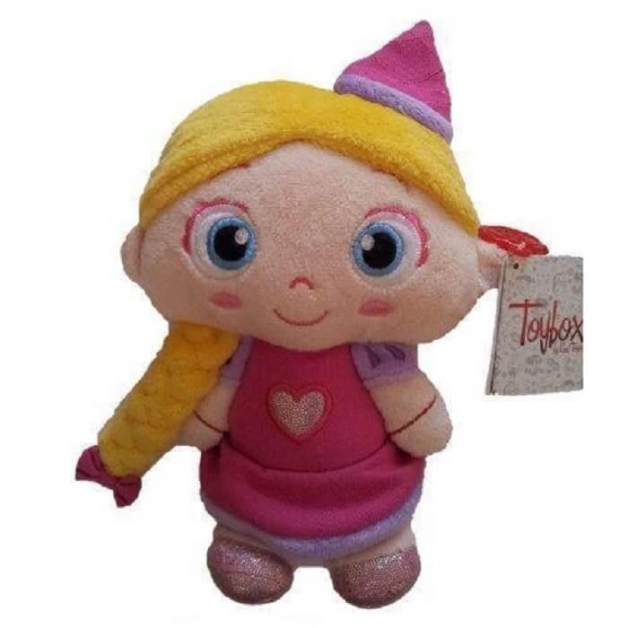 Peluche princesse toybox kelltoys