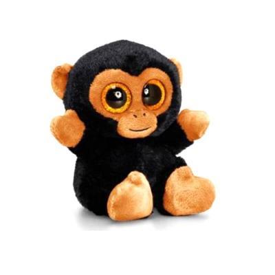 Peluche singe aux gros yeux animotsu keel toys