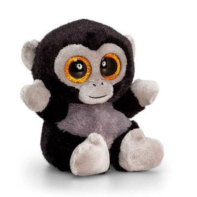 Peluche singe aux gros yeux keel toys