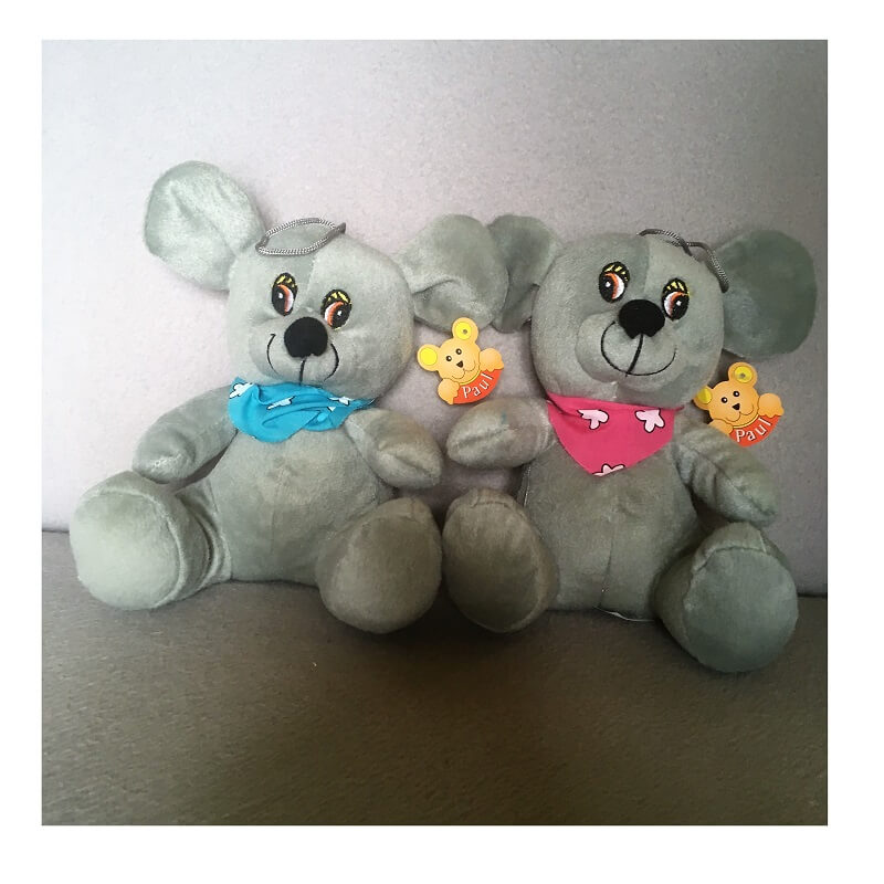 Peluche sourie