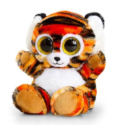 Tigre peluche aux gros yeux Keel Toys