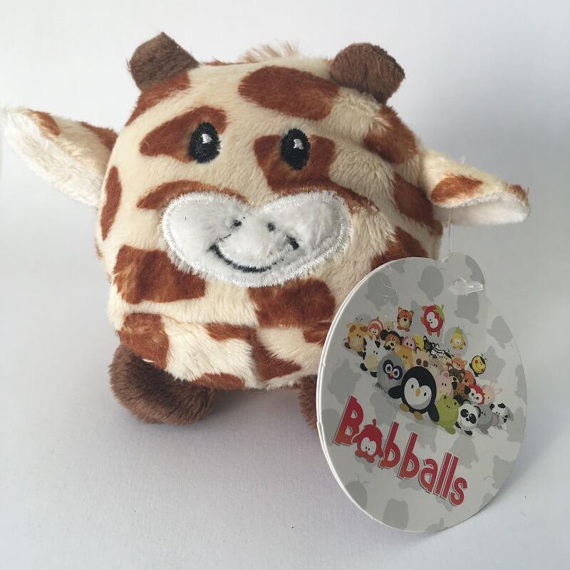 Peluche vache marron bobballs keel toys