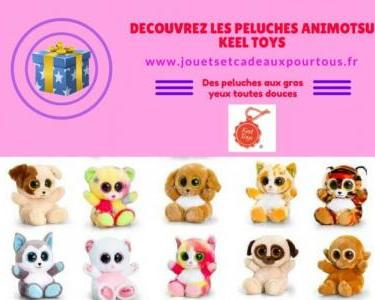 Les peluches Keel Toys
