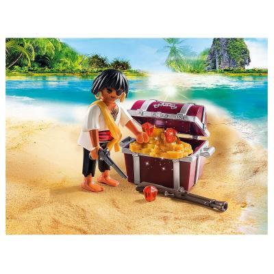 Pirate et son coffre au tresor playmobil
