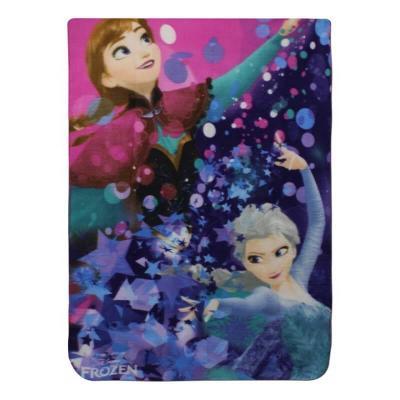 Plaid polaire La reine des neiges Disney