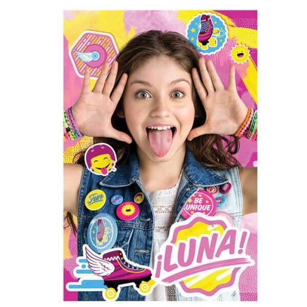 Plaid Soy Luna Disney -  Idée cadeau enfant utile