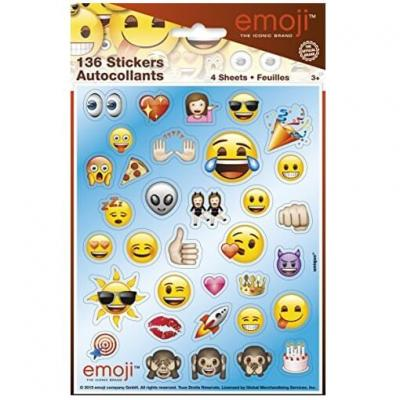 Planches d autocollants emoji lot de 4 planches