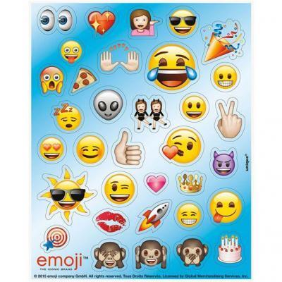 Planches d autocollants emoji
