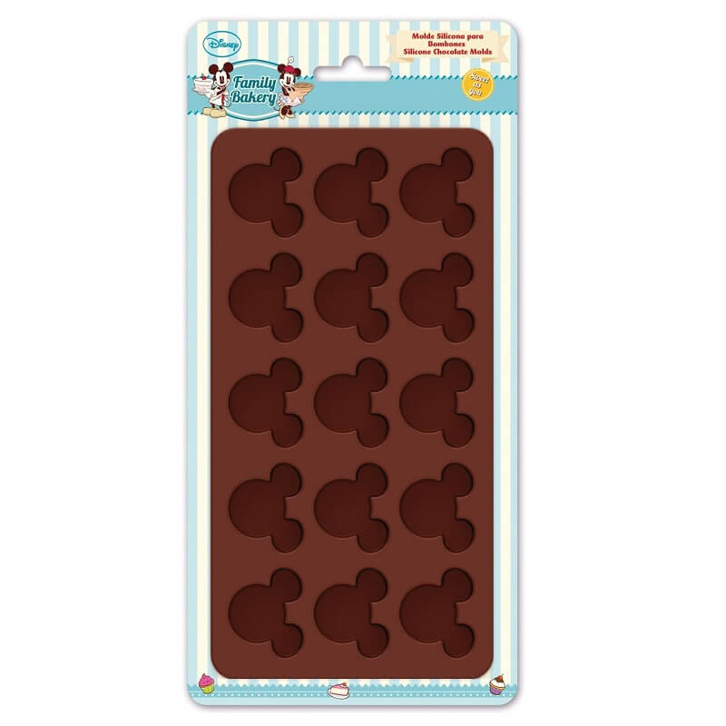 Plaque de moules en silicone a gateaux mickey disney