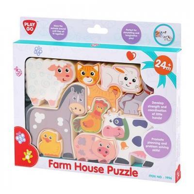 Puzzle Play Go - Les animaux de la ferme