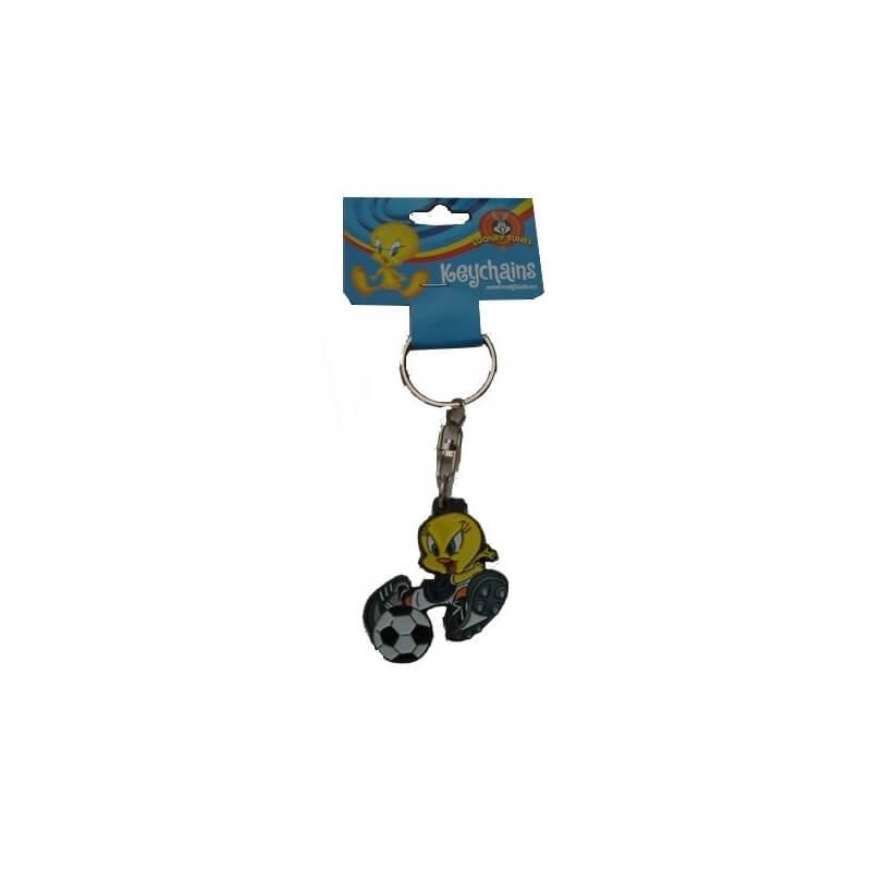 Porte clef metal titi foot 8430269131382