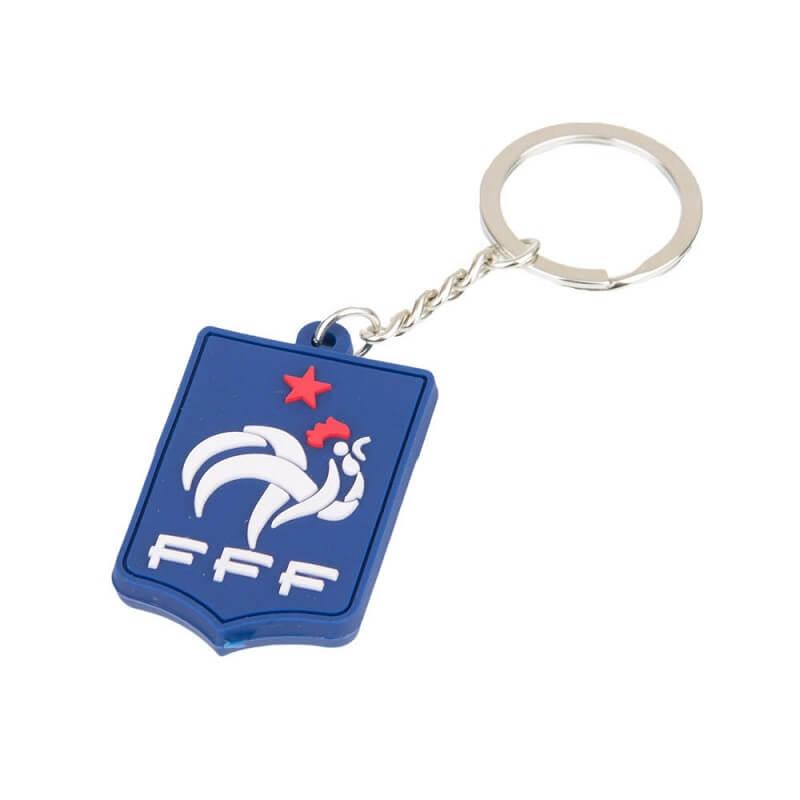 Porte cles federation francaise de foot officiel