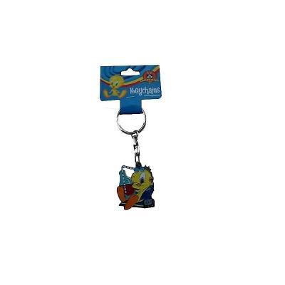 Porte-clés Titi zen à la plage en métal