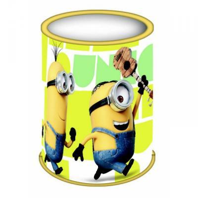 Grand pot à crayons sous licence Les minions en métal