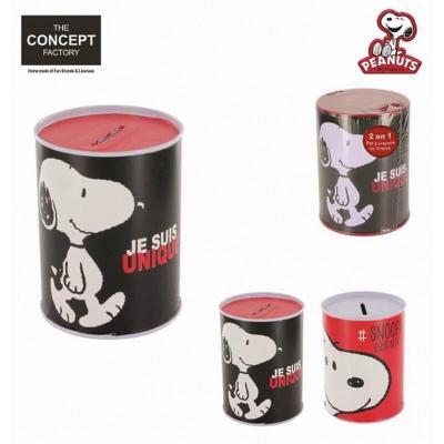 Pot à crayons ou tirelire Snoopy - 2 en 1