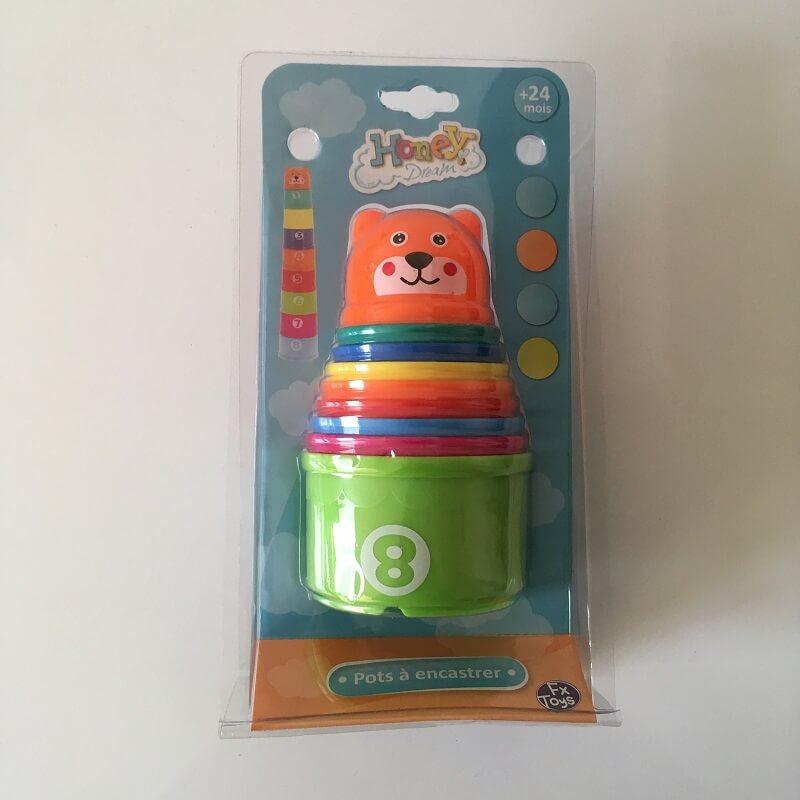 Pots a encastrer pour enfant de 24 mois et plus jouet petite enfance