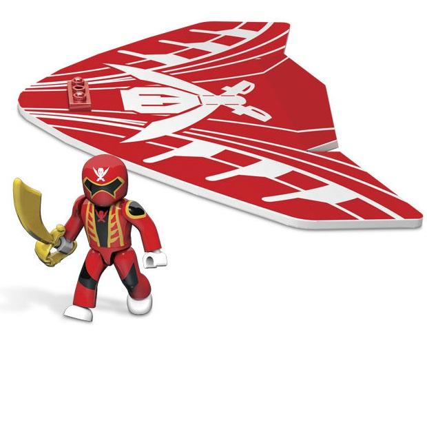 Power rangers super megaforce planeur rouge 3