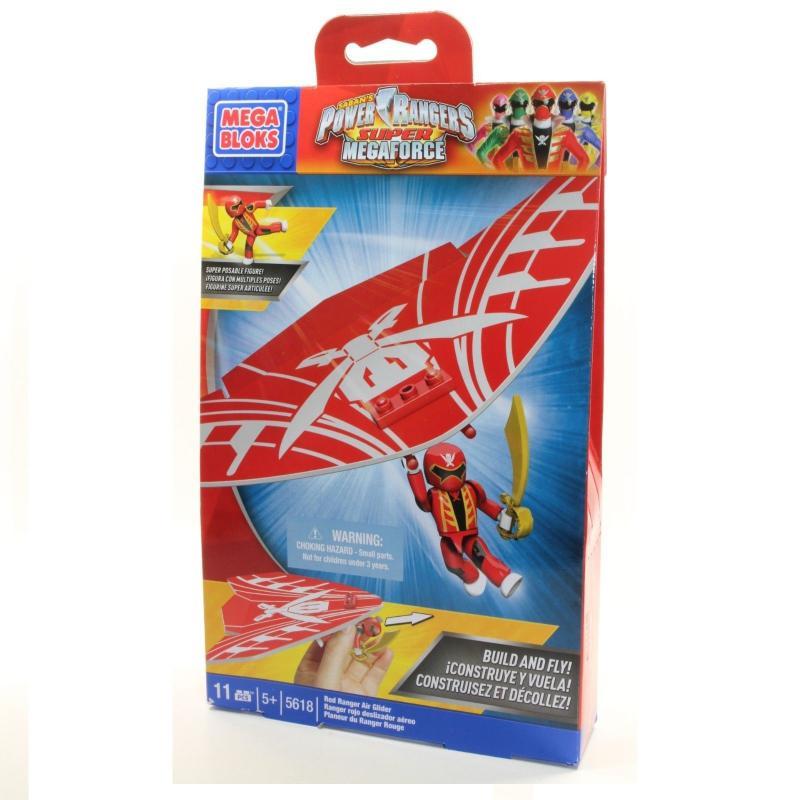 Power rangers super megaforce planeur rouge 5