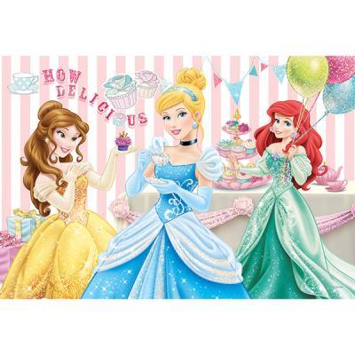 Princesses Disney - puzzle glamour Trefl