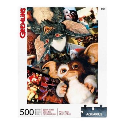 Puzzle 500 pieces gremlins aquarius