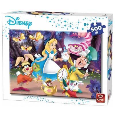 Puzzle Alice au pays des merveilles Disney de 500 pièces