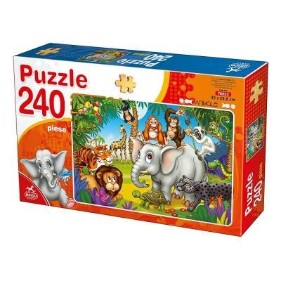 Puzzle les animaux sauvages de 240 pièces