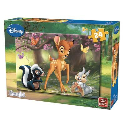 Puzzle bambi disney 24 pieces version 1