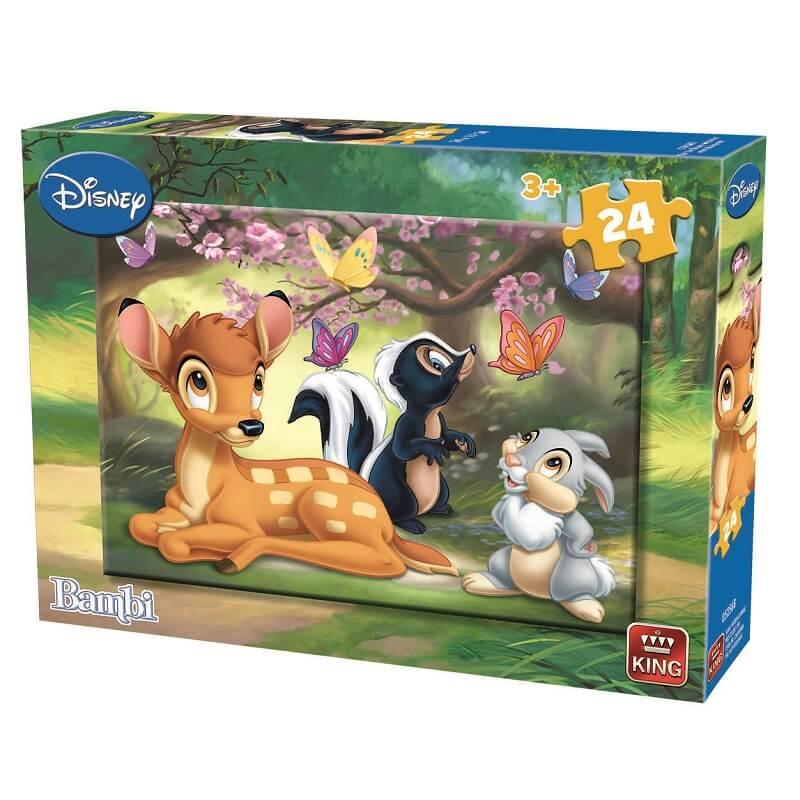 Puzzle bambi disney 24 pieces version 2